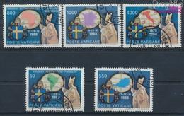 Vatikanstadt 988-992 (kompl.Ausgabe) Gestempelt 1989 Papstreisen (9355351 - Usados