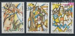 Vatikanstadt 996-998 (kompl.Ausgabe) Gestempelt 1990 Angela Merici (9355290 - Vaticano (Ciudad Del)