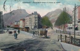 I145 - 38 - GRENOBLE - Isère - Cours Saint-André Et Avenue De Vizille - Grenoble