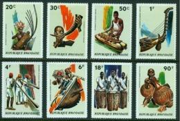 """-Rwanda-1973-""""Musical Instruments"""" MH (*) - Rwanda"""