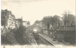 VINCENNES - Quai De La Station Du Chemin De Fer - Vincennes