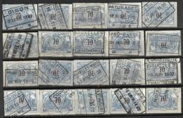 _9Sp-974:restje 20zegels: TR23 ...om Verder Uit Te Zoeken. - 1895-1913