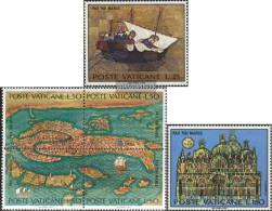 Vatikanstadt 599,600-603 Block Of Four, 604 (complete Issue) Unmounted Mint / Never Hinged 1972 Save Venice - Vatican