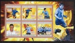 GUINEE  Feuillet   N°  5026/31  * *  ( Cote 15e ) Cup 2010 Football  Soccer  Fussball  Uruguay - Fußball-Weltmeisterschaft