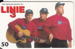 DENMARK(chip) - Linie 3, Tirage 50000, 10/97, Used - Music