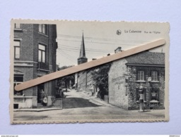 """LA CALAMINE"""" Rue De L'Église"""" Animée, Commerces, Restaurant , Ancienne Pompe à Essence ESSO ( NELS ). - Kelmis"""