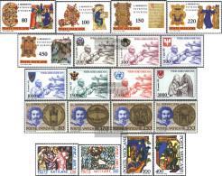 Vatikanstadt 759-778 (complete Issue) Volume 1980 Completeett Unmounted Mint / Never Hinged 1980 Holy. Benedikt, World T - Vatican