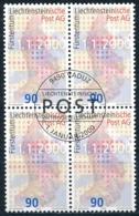 Zumstein 1169 / Michel 1226 Viererblockserie Mit ET-Zentrumstempel - Used Stamps