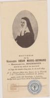 Relique Bienheureuse Bernadette Soubirous, Parcelle De Ses Vêtements, Lourdes, Nevers, Sainte, Ex Indumentis - Devotion Images