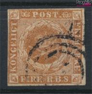 Dänemark 1 (kompl.Ausg.) Gestempelt 1854 Kroninsignien (9350224 - Oblitérés