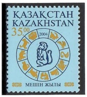 Kazakhstan 2004. Year Of Monkey. 1v: 35.oo.  Michel # 449 - Kazajstán