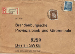 Deutsches Reich - Einschreiben Ausschnitt / Registered Letter Cut (A886) - Briefe U. Dokumente