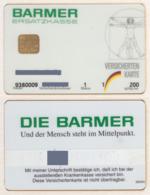 Germany - Insurance Cards - 6 Diff. - Versicherten Karte - Ersatzkasse - Krankenkasse - Yyy - Sonstige