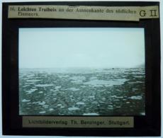 LEICHTES TREIBEIS AN DER AUSSENKANTE DES SÜDLICHEN EISMEERS - Diapositiva Su Vetro