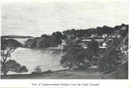 VIEW OF CASTLETOWNSHEND HARBOUR FROM THE CASTLE GROUNDS - COUNTY CORK - Cork