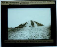DER GAUSSBERG IM RANDE DES ANTARKTISCHEN INLANDEISES - Diapositiva Su Vetro
