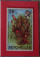 Petit Calendrier De Poche 2008 Timbre Poste Seychelles - Small : 2001-...