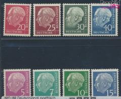 RFA (FR.Allemagne) 179y,181y,183y-186y, 259y-260y (kpl.Edition.) Floureszierend Neuf Avec Gomme Originale 1960 (8831085 - [7] República Federal