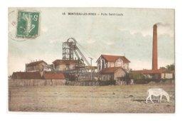 Montceau Les Mines - Puits St Louis - Montceau Les Mines
