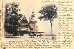 Tervueren Tervuren - La Gare (animatie, Gekleurd, Zeldzaam, 1901) - Tervuren