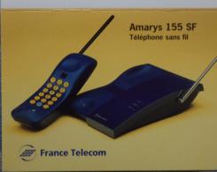 Petit Calendrier De Poche 1995 France Telecom Amarys 155 SF Téléphone Sans Fil  - Caen - Calendriers