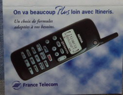 Petit Calendrier De Poche 1997 France Telecom  Itineris - Calendriers