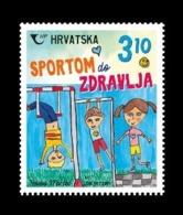 Croatia 2019 Mih. 1405 Children's Drawings. Health Through Sport MNH ** - Croatia
