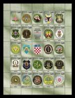 Croatia 2019 Mih. 1406/26 Croatian War Of Independence. Special Police Units MNH ** - Croazia