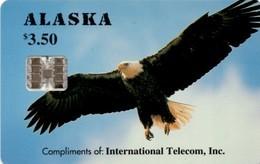 *U.S.A. - ALASKA* -  Scheda A CHIP Usata - Vereinigte Staaten