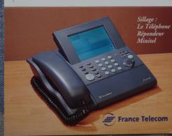 Petit Calendrier De Poche 1996 France Telecom Sillage Téléphone Répondeur Minitel - Morient Pontivy - Calendriers