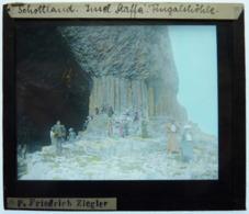 SCHOTTLAND - FORMATION GÉOLOGIQUE DE STAFFA - Glass Slides