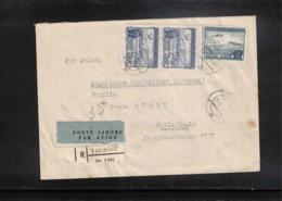 Albania 1958 Interesting Airmail Registered Letter - Albanie