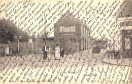 Oude God - Zicht Op De Statie (animatie, G. Hermans, Café 1903) - Mortsel