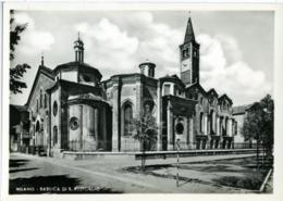 MILANO  Basilica Di S. San Eustorgio  Veduta Laterale - Milano (Milan)