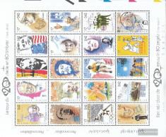Belgium 2909-2928 ZD-archery (complete Issue) Unmounted Mint / Never Hinged 1999 Zeitenwende - Belgium