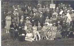 BARBAZAN  PHOTO DES THERMES 1921  PH. A. CANDIE  BARBAZAN ET MONTREJEAU  CARTE PHOTO - Places