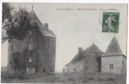 CPA De CHAUDESAIGUES - Château Cauffour - Other Municipalities