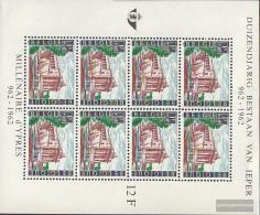 Belgium Block27 (complete Issue) Unmounted Mint / Never Hinged 1962 City Ypern - Blocks & Sheetlets 1962-....