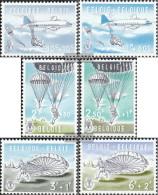 Belgium 1190-1195 (complete Issue) Unmounted Mint / Never Hinged 1960 Parachuting - Belgium