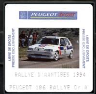 Diapositive De Presse - Peugeot Talbot Sport - 106 Rallye Groupe A - Diapositive