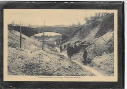 AK 0349  Minenwerfer In Einen Bahneischnitt / Bilder Von Der Westfront Um 1914-18 - Guerre 1914-18