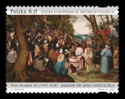 Poland 2019 Mih. 5170 The Preaching Of St. John The Baptist. Painting Of Pieter Brueghel The Younger MNH ** - 1944-.... Repubblica