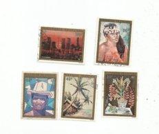 84/88     ARTISTES  EN POLYNESIE   (pag13) - Used Stamps