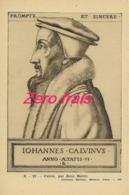 TH - Carte Pédagogique Nathan - Calvin, Par René Boivin - Geschichte