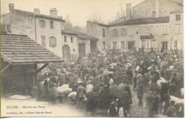 BILLOM  Marché Aux Porcs - France