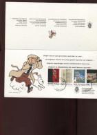 Belgie Tintin Kuifje Rocket To The Moon Diplomatic Postcard New Year 2013 Boom Cancel 12/12/2012 - Philabédés (comics)