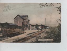 CP30/ Belgique - België CP Agimont (Village) La Gare Aux Environs De 1907 Editeur G.Destexte - Hastière