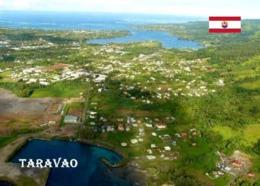 French Polynesia Taravao Aerial View New Postcard - Französisch-Polynesien
