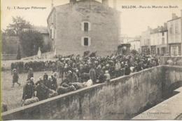 BILLOM Place Du Marché Aux Boeufs - Autres Communes