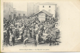 BILLOM  Marché Aux Porcs - Autres Communes